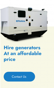 Hire generators At an affordable price